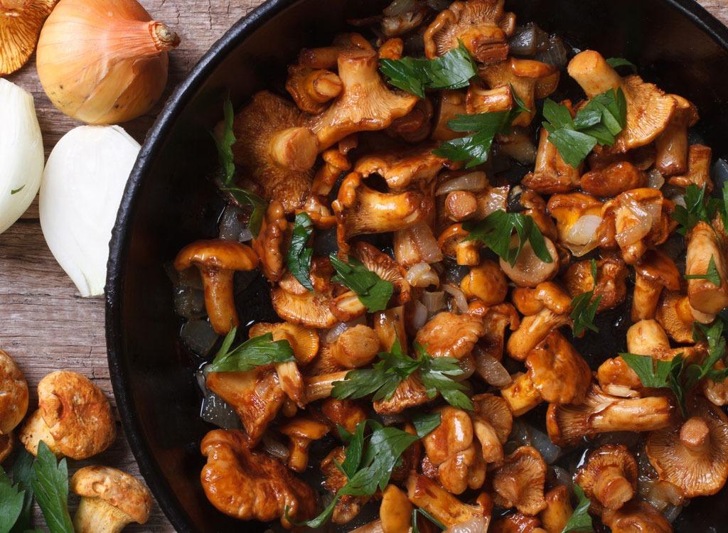 Chanterelle-mushroom-vitamin-d